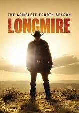 Longmire: The Complete Fourth Season 4 (DVD, 2016, 2-Disc Set)