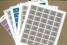 UNITED NATIONS Kosovo #1 -5 Complete Set in Full Sheets of 40 Brookman Cat $600