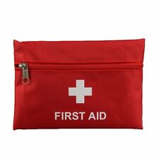 Mini Outdoor Hiking Camping Survival Travel Emergency First Aid Kit Bag Pack Red