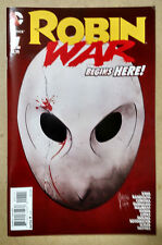 ROBIN WAR #1 1ST PRINT - DC COMICS (2016) BATMAN NIGHTWING COURT OF OWLS