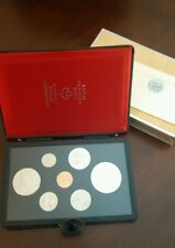 1975 Canada Double Dollar Proof Set Silver Calgary Dollar and Dollar - COA