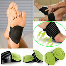 Footful Pair Foot Arch Support Heel Pain Relief Plantar Fasciitis Insole Pad YM