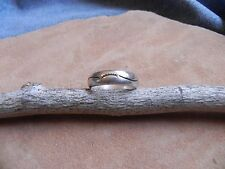Old Pawn Stamped Sterling Silver Ring size 10 Navajo