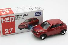 NEW Takara Tomica Tomy #27 NISSAN JUKE Red Scale 1/64 Diecast Toy Car Japan