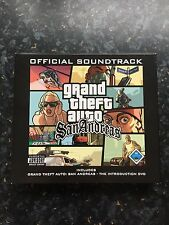 Grand Theft Auto San Andreas Soundtrack Double CD & DVD