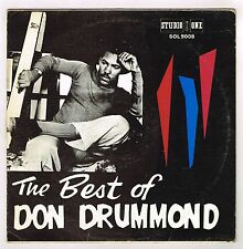 studio 1 LP : DON DRUMMOND-the best of don drummond   (hear)   killer ska