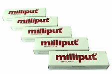 5 Packs Terracotta Milliput Epoxy Putty Modelling Filler Ceramic Repair X1016d