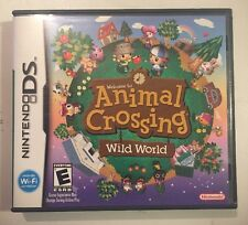 Animal Crossing: Wild World (Nintendo DS, 2005)Complete Mint Fast Free Ship