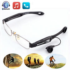 Wireless Bluetooth Sun Glasses Headset Handsfree Earphone Polarized Lens w Mic