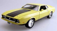 1973 Mustang ELEANOR Yellow 1:18 Ertl American Muscle 33195
