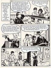 JULIANA BUCH : PUCK A LE TRAC PLANCHE ORIGINALE AREDIT PAGE 35