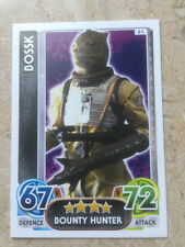 STAR WARS Force Awakens - Force Attax Trading Card #061 Bossk