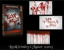 Bloody Walls DVD Halloween Prop Special FX Horror Projector Projection Animation