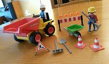 PLAYMOBIL, boîte 3756  -Tracteur DUMPER-