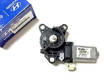 Genuine OEM 82450 2C000 Power Window Motor Left for Hyundai Tiburon 2003 - 2008