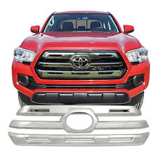Chrome Grille Overlay FOR '16 '17 2016 2017 Toyota Tacoma SR5 / Limited