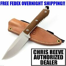 CHRIS REEVE NYALA FIXED BLADE DROP POINT MICARTA HANDLE CPM-S35VN KNIFE NIB