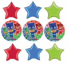 Pj Masks Birthday Party Favor Supplies 9CT Foil Balloons