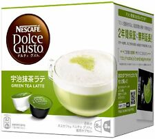 Nescafe Dolce Gusto capsule dedicated Uji Matcha latte 8 cups Japan