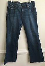 Lucky Brand Mid-Rise Flare 14 / 32 Distressed 7w10370
