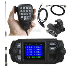 QYT KT-8900D Mobile Radio+Nagoya Antenna+Mount+PL259 5m Cable+USB Program Cable