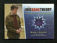 The Big Bang Theory Season 5 Wardrobe Card M32 Barry Kripke / John Ross Bowie