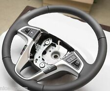 Leather Steering Wheel Light Grey Color For Hyundai Accent Solaris 2011 2015