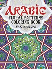 Arabic Floral Patterns Coloring Book by Nick Crossling and Coloring Books...