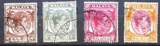 1949- 54  USED STAMPS - BRITISH MILITARY ADMIN. & FEDER