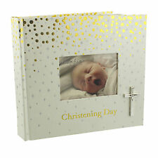 "Beautiful Christening Day Photo Album, By Bambino Slip In Sleeves, 6""x 4""Photo's"
