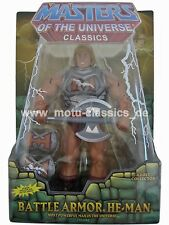 Battle Armor He-Man 2010 Masters of the Universe BA HE MAN MOTU CLASSICS Masters