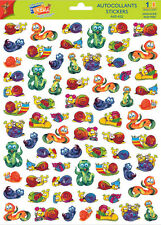 A4 Sticker Sheet Cute Snails & Worms - Scrapbooking & Cardmaking over 60 image
