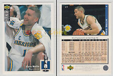 NBA UPPER DECK 1994 COLLECTOR'S CHOICE - Chris Mullin # 17 - Ita/Eng- MINT