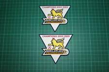 F.A. PREMIER LEAGUE GOLD-CHAMPIONS BADGES 2002-2003