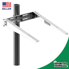 Solar Panel Universal Double Arm Pole/Wall Solar Mounting - from 85W to 140W
