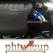 BLUE BLACK 2011-2015 DODGE AVENGER JOURNEY 3.6 3.6L Pentastar V6 AIR INTAKE KIT