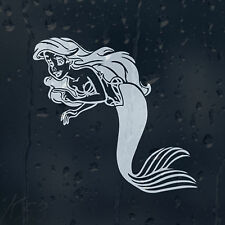 Cartoon Princess Ariel Mermaid Car Decal Vinyl Sticker For Wall Window Bumper
