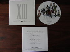 CD MUSIQUE FINAL FANTASY XIII  -- ORIGINAL SOUND SELECTION   10 TITRES