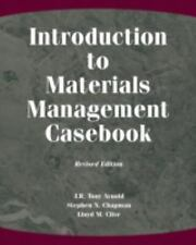 Introduction to Materials Management Casebook by J. R. Tony Arnold, Stephen...