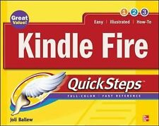 Kindle Fire QuickSteps by Joli Ballew (2012, Paperback)