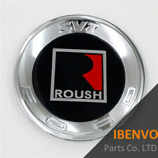 #B ABS Roundel Roush SVT Rear Tail Deck Lid Trunk Emblem Badge For Ford Mustang