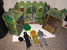 Vintage 1974 Mego Wizard Of Oz Emerald City,Witch,Lion,Tin Man Action Figures
