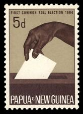 PAPUA NEW GUINEA 182 (SG55) - Common Roll Elections (pf3994)  NH