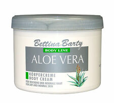 Bettina Barty Aloe Vera Body Cream 2 x 500ml Sparpack  Wellness Neu !!