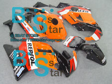 Orange Glossy ABS Fairing With Tank Cover Kit Fit HONDA CBR600F2 1991-1994 33 A7
