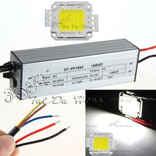 50W Cool White SMD LED Chip Lamp + High Power IP65 Waterproof LED Power Driver