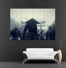 Warriors/Samurai Huge Poster 1 A659