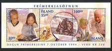 Iceland 1994 Stamp Day/Stamp-on-S/Children m/s (n32275)