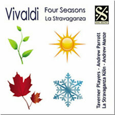 CD VIVALDI FOUR SEASONS LA STRAVAGANZA (EXCERPTS)