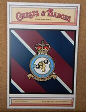 Royal Air force No 21 Squadron Crests & Badges of  the Armed services Postcard